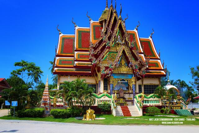 Wat Laem Suwannaram - Wat Plai Laem - Koh Samui - Thailand Samui Group booking tour